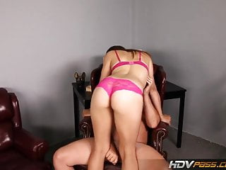Taylor sucks - Hdvpass horny brunette sabrina taylor sucks off older man