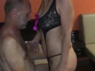 Touch that ass Wife touched while husband watches
