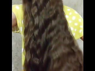 Super long cock videos Super long haired brunette, long hair, hair