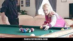 Teen Stepdaughter Marsha May Makes A Bet With Step-Daddy