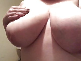 Lesbian how to touch her boobs - My girl touching her boobs