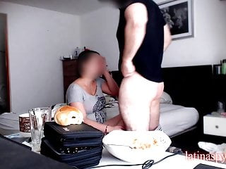 Homemade tight pussy - Maid with tight pussy makes boss cum