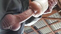 Pornstar Stoya Destroya Fleshlight Big Cock Cum