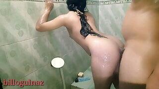 Sali ki chudai washroom me