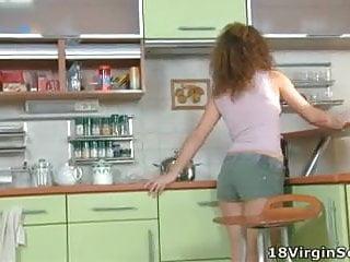 Small virgin teens Dirty little virgin tempts her man