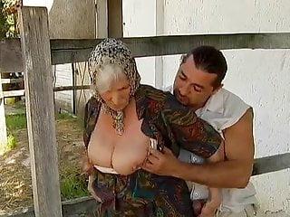 To norma boobs - Granny norma