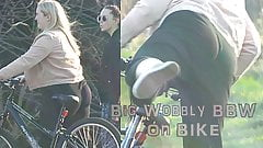 019 - Große wackelige BBW auf dem Fahrrad (Feldserie)