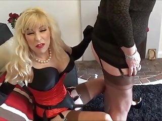 Angelique valentine nude Angelique is fucked on madame cs lap
