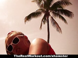 Hot ass blonde fucking Therealworkout - hot ass kelsi monroe gets fucked hard