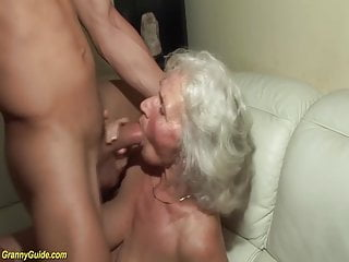 Hoopz porn video - 75 years old grandma first porn video