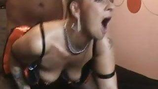 Mature stockings slut fuck and cumshot