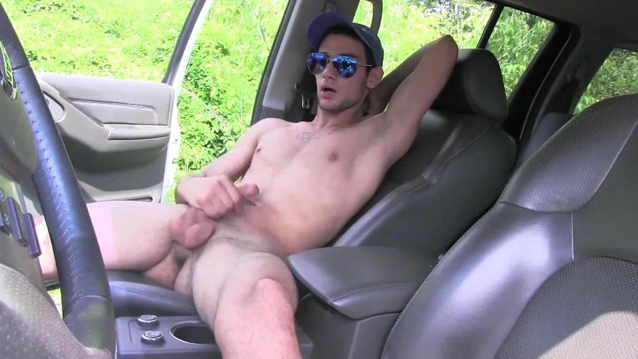 Guy in car masturbating mobile fuck pics