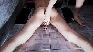 TRAILER: Had him smell and sniff my feet