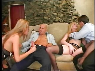 Hard fucks tight cunts Lucky guy pounding two tight cunts