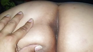 Wife's delicious big butt and pussy