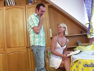 Watch mom get fucked xvideos - German mom get fucked with young step-son after school