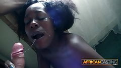 Euro Tourist First Time Fuck Ghana Girl