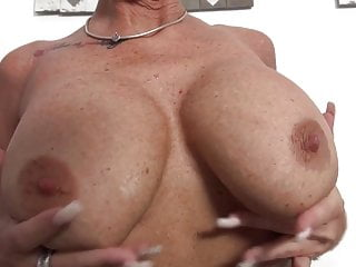 Amateur busty granny - Busty granny with thirsty big vagina