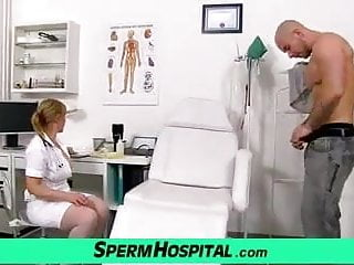 Gay boy doctors tortur Czech uniform milf gabina assists a boy with sperm donation