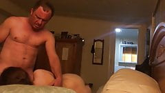 My boss is a dick, but his wife loves mine! See for yourself