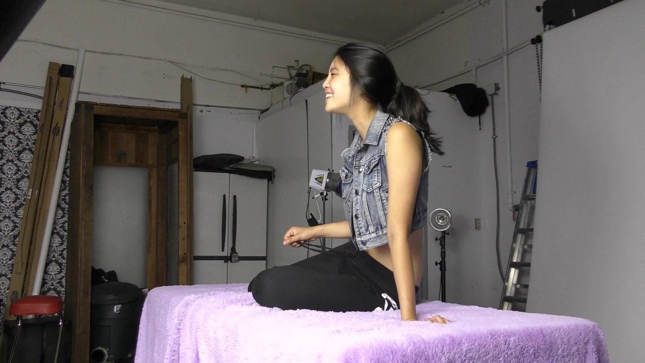 Korean girl, photo session, NN