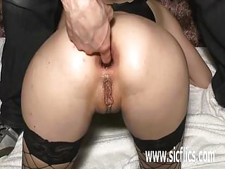 Anal gaping pics bottle - Brutal anal fisting and wine bottle insertions