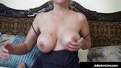 Mommy Has A Big Rack! Horny Mom Julia Ann Face Fucks Dick!