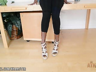 Shanghai chengtong precision strip co - Ebony coed strips to play with her perfect pussy