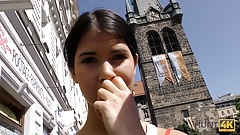 HUNT4K. Lovely brunette Madelina Dee asks BF