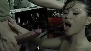 Asian barmaid