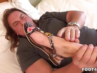 Free daily foot fetish video - Megan rain foot fetish