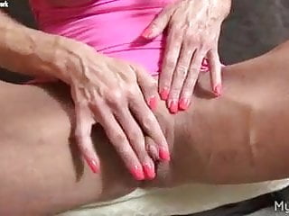 Mature female body builders Body builder big clit