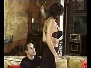 Sexy brunette girl gets fucked Sexy brunette in black lingerie gets fucked and a nice facial