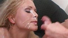 Kathy Takes A Messy Double Facial Blasting