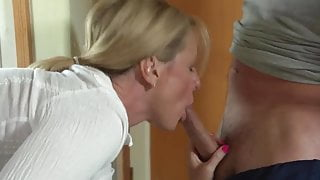 Mom can't move and step sons fuck her - SO EXCITING!