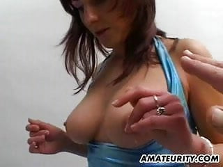 Amateur gf facial Amateur gf with big tits sucks and fucks with facial