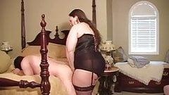 BBW Mistress Belle strapon