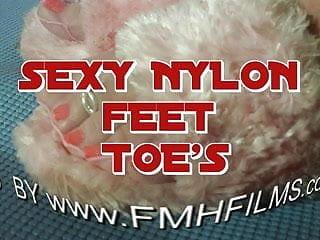 Youtube sexy nylon covered feet - Sexy nylon feet toes