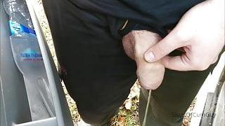 Van Driver Piss Break At Work #2 - SlugsOfCumGuy