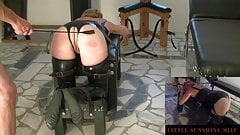 Tied-Spanking-Butt Plug-Orgasm - Little Sunshine MILF