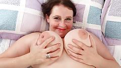 English milf Jane lets you enjoy her oversized lady bits