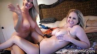 Vicky Vette & Julia Ann's First Time?!