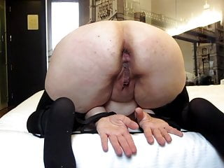 Tens on clit - Session 23: ten hard strokes on ass
