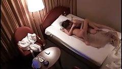 Asian hotel room lesbian massage