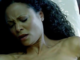 Nude fashion tv Thandie newton nude boobs in westworld tv show