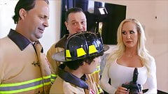 Brandi Love And The Fire Fighter