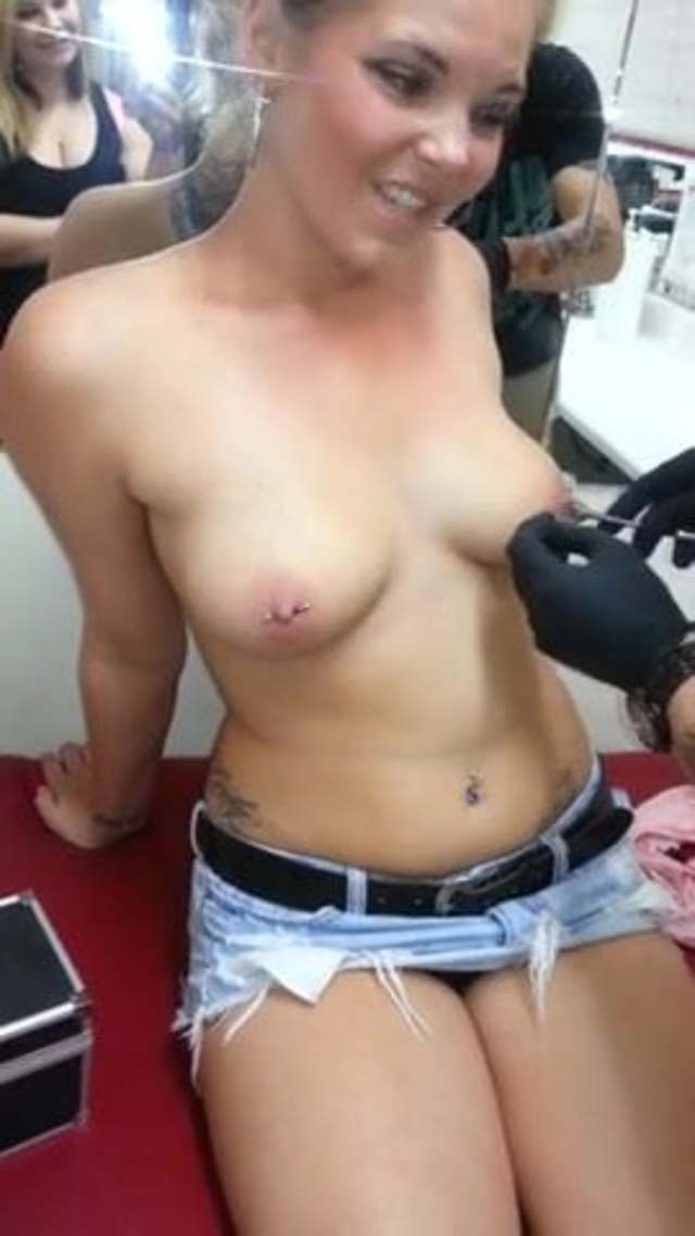 Pierced Chubby Teen Amateur