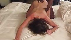 fuck White wife with 2 BBC's sensual