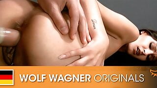 Photoshoot turns into a hot fuck session! Wolfwagner.com
