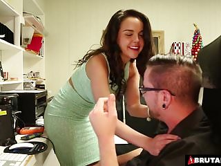 Too horny hands off orgasm videos Brutalclips - dillion was just too horny to wait till he got